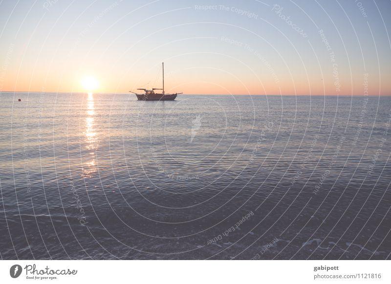 Der frühe Fisch Ferien & Urlaub & Reisen Sommer Sonne Erholung Meer ruhig Strand Ferne feminin Freiheit Zufriedenheit frisch Tourismus Ausflug Lebensfreude