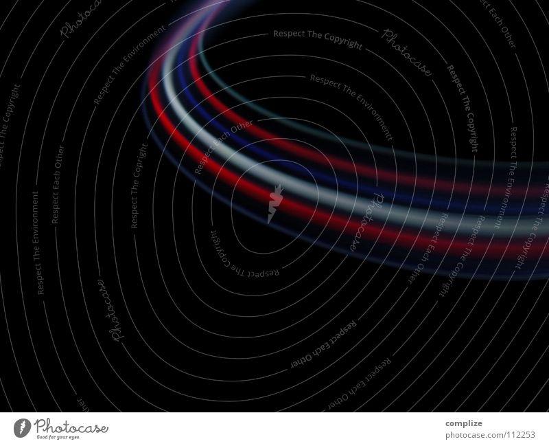 le cercle* blau grün weiß Farbe rot schwarz Beleuchtung Freiheit Lampe hell Hintergrundbild Kunst Musik glänzend Verkehr Geschwindigkeit