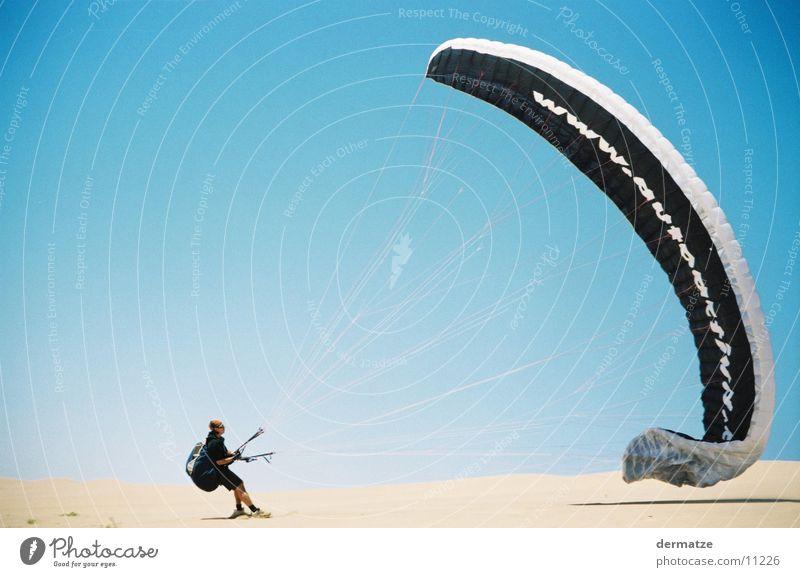 Gliders Heaven Himmel Wind Wüste Gleitschirmfliegen Flugsportarten Extremsport