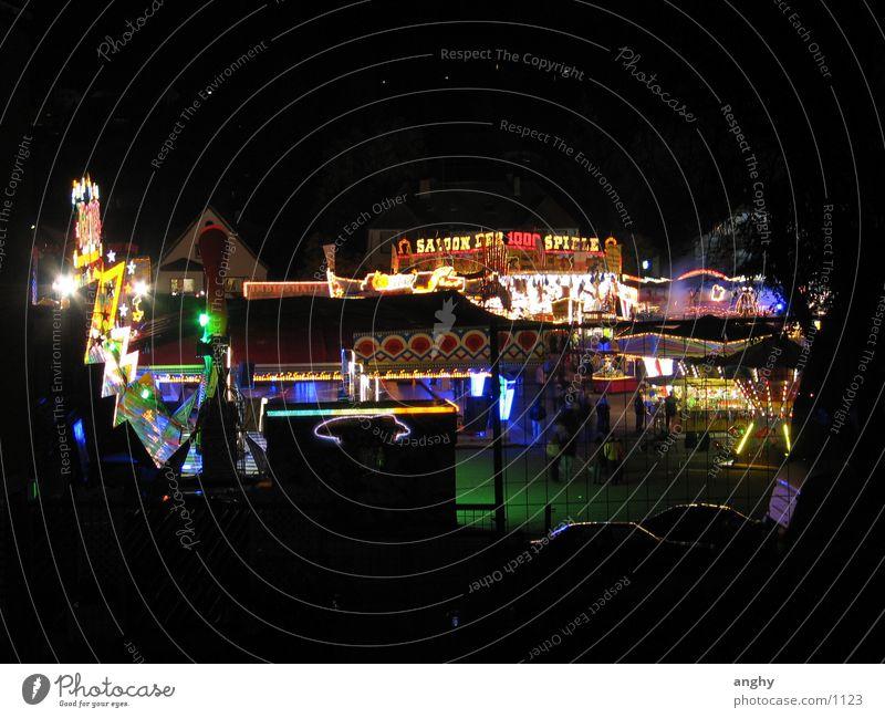 buntes Treiben in St. Wendel Nacht Licht Jahrmarkt mehrfarbig Freizeit & Hobby Kerwe