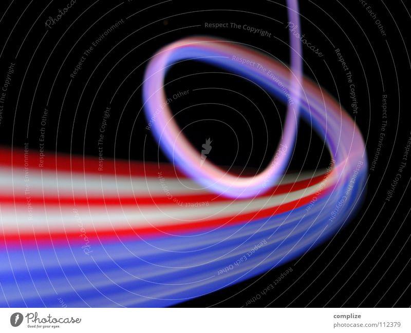 stars & stripes blau grün weiß Farbe rot schwarz Beleuchtung Lampe hell Hintergrundbild Kunst Freizeit & Hobby Musik glänzend Verkehr Geschwindigkeit