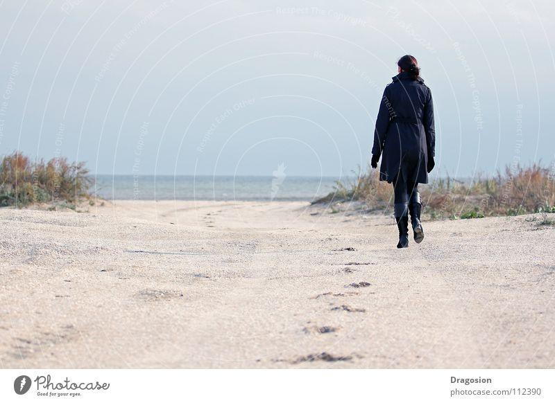 Return Strand Arbeit & Erwerbstätigkeit Gefühle Sand elegant