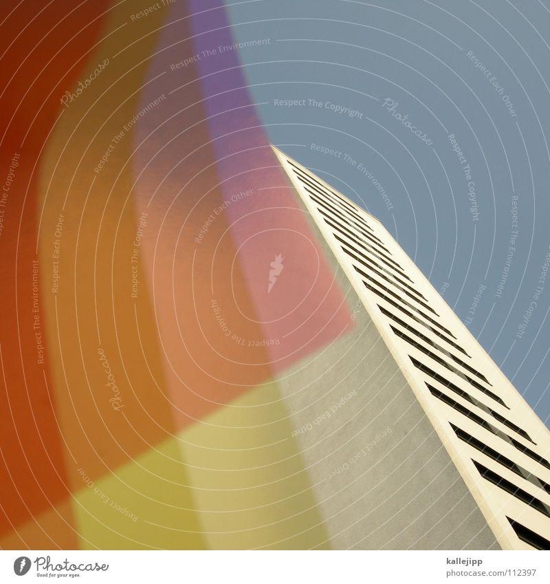plattentektonik Himmel Haus Farbe Wand Fenster Architektur Raum rosa leer Ecke Häusliches Leben Bauernhof Aussicht Grenze Verfall Rahmen