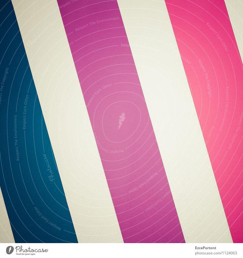 \\\ Kunststoff Linie Streifen leuchten blau violett rosa weiß Design Farbe Grafik u. Illustration Grafische Darstellung graphisch breit Reihe Farbfoto