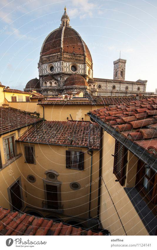 Bellezza Himmel Sonnenlicht Schönes Wetter Altstadt Kirche Dom Dach ästhetisch Religion & Glaube Florenz santa maria del fiore Toskana Kuppeldach Marmor