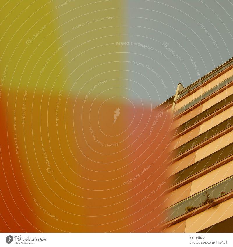 plattenvertrag Himmel Haus Farbe Wand Fenster Architektur Raum rosa leer Ecke Häusliches Leben Bauernhof Aussicht Grenze Verfall Rahmen