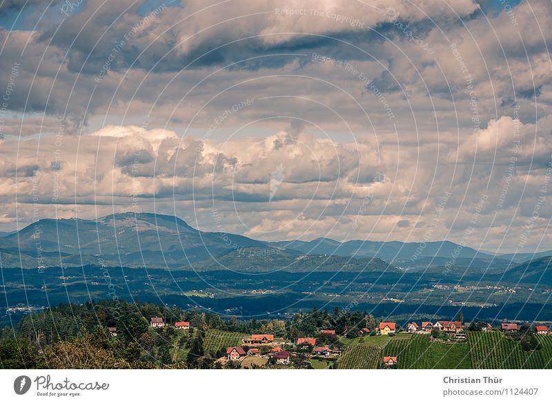 Gewitterwolken Leben harmonisch Wohlgefühl Erholung ruhig Meditation Ferien & Urlaub & Reisen Tourismus Ausflug Sightseeing Sommerurlaub Berge u. Gebirge