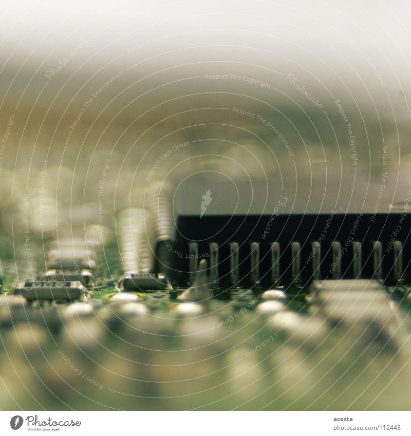 lecker chip grün schwarz Computer Beine Elektronik Industrie Informationstechnologie Technik & Technologie silber Mikrochip Platine Elektrisches Gerät