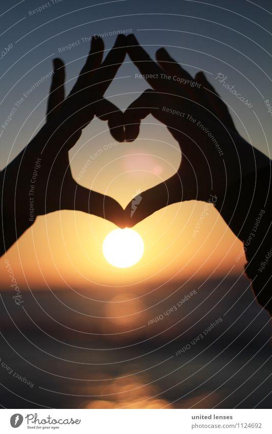 FF# Warmherz II Ferien & Urlaub & Reisen Hand Liebe Kunst Horizont Zufriedenheit Design Idylle Kraft ästhetisch Kreativität Herz Abenteuer einzigartig