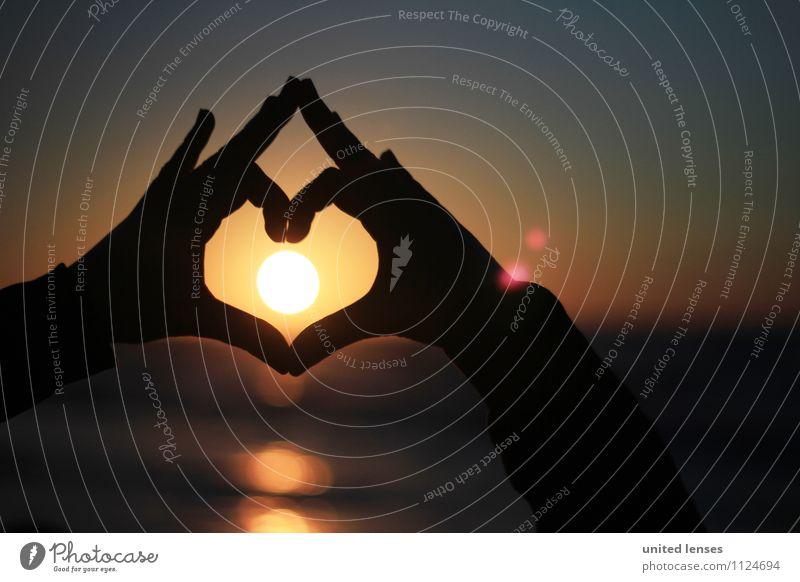 FF# Warmherz I Kunst ästhetisch Zufriedenheit Sonnenuntergang Sonnenlicht Sonnenstrahlen Sonnenenergie Sonnenbad Herz Symbole & Metaphern Liebe Liebesbekundung