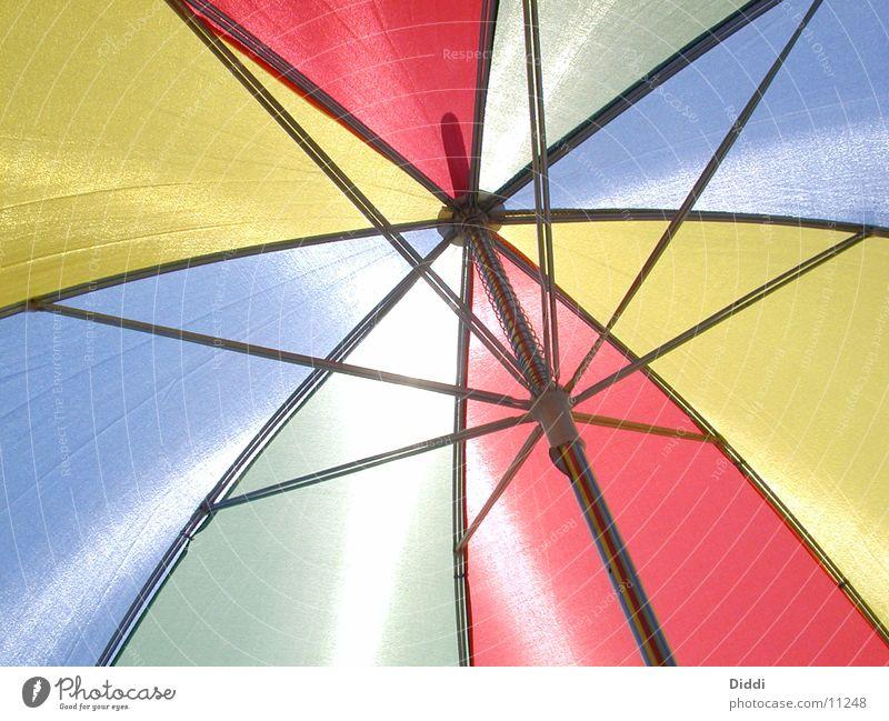 Sonnenschirm Sonne Ferien & Urlaub & Reisen hell Freizeit & Hobby Regenschirm heiß