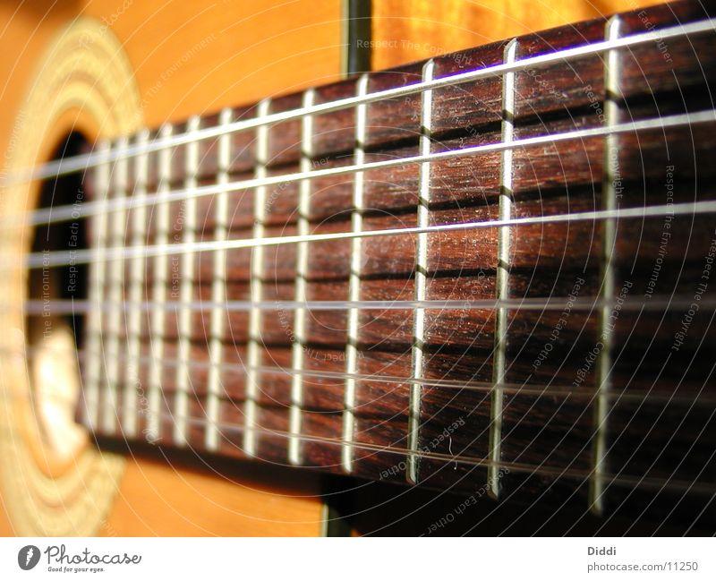 benutzte Gitarre Fototechnik seiden Griffbrett