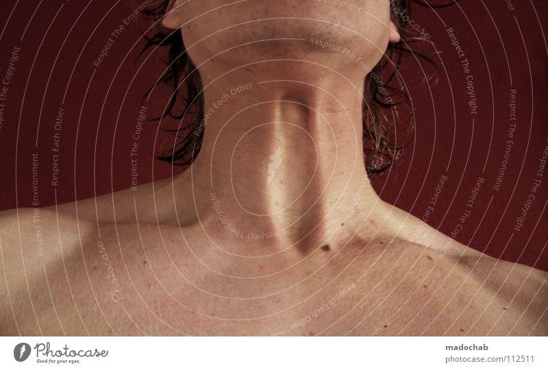 ORGASMUS GARANTIE Mensch Mann Natur nackt Haare & Frisuren Kraft Haut maskulin Körperhaltung rein Konzentration Brust Schulter Hals anstrengen Gefäße