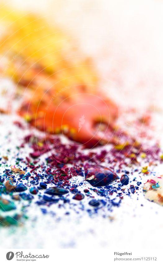 Aquarellfarbtropfen Kunst Flüssigkeit Aquarellfarbe Wasserfarbe Kreativität regenbogenfarben zeichnen Papier mischen blau rot gelb Farbkrümel Freizeit & Hobby