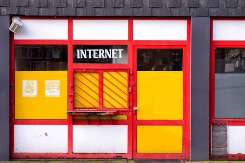 Die Neuen Medien Computer Technik & Technologie Unterhaltungselektronik Fortschritt Zukunft Telekommunikation Internet Neue Medien E-Mail Marl Stadt Gebäude