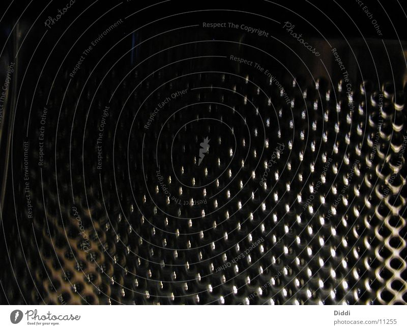 In der Trommel Metall Loch Waschmaschine Fototechnik