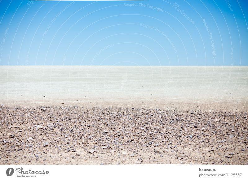 salzpfanne. Natur Ferien & Urlaub & Reisen schön Sommer Einsamkeit Landschaft Ferne Umwelt Freiheit Sand Horizont Erde trist Tourismus Ausflug beobachten