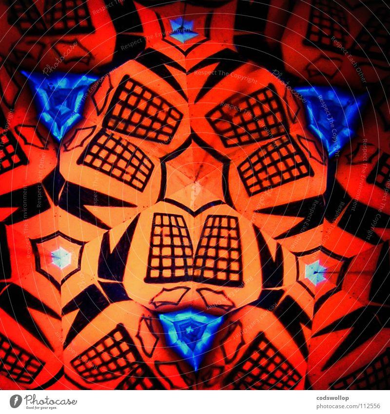 mr tidyman orange Müll obskur Hinweisschild graphisch jonglieren Logo Müllbehälter Verzerrung Eimer Schwindelgefühl aufräumen Mittelpunkt Kaleidoskop Spinning