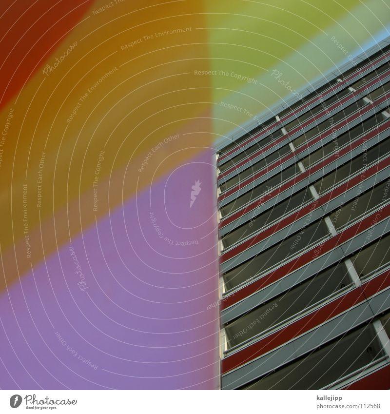 langspielplatte Himmel Haus Farbe Wand Fenster Architektur Raum rosa leer Ecke Häusliches Leben Bauernhof Aussicht Grenze Verfall Rahmen