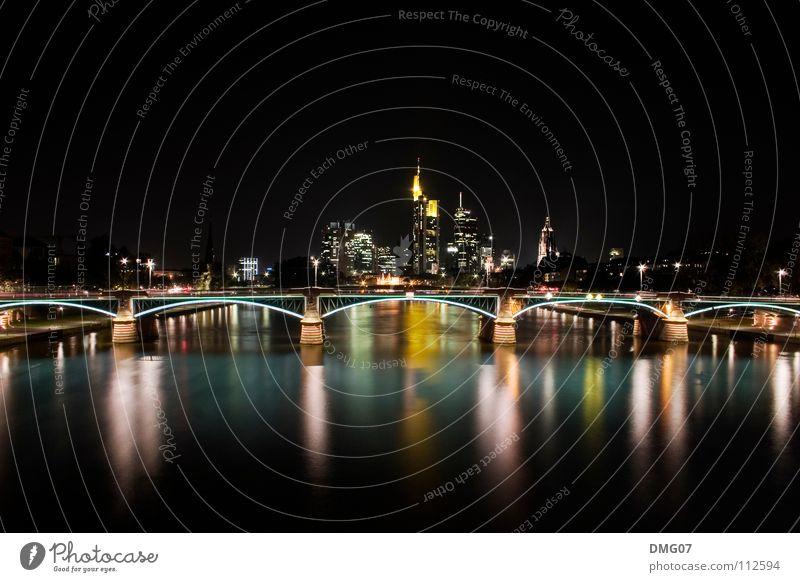 Skyline Mainhattan Stadt Ferien & Urlaub & Reisen Umwelt Stil Musik Feste & Feiern Wellen Ausflug Design Erfolg Tourismus Lifestyle Macht