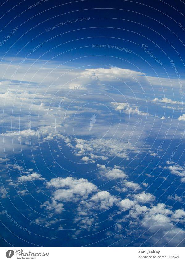 HimmelBlau weiß blau Wolken