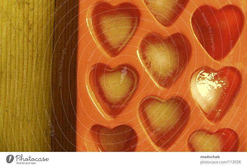 VERLIEBT schön Freude Liebe Stil Eis Herz groß Vertrauen einzigartig Zeichen trashig Partner Symbole & Metaphern Sinnesorgane Rest Valentinstag