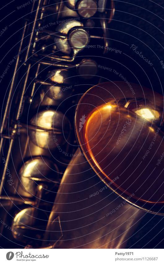 C-Melody Saxophon musizieren Musik Musik hören Jazz Blues Musikinstrument Metall alt silber Gefühle Stimmung Lebensfreude Coolness Dreißiger Jahre antik