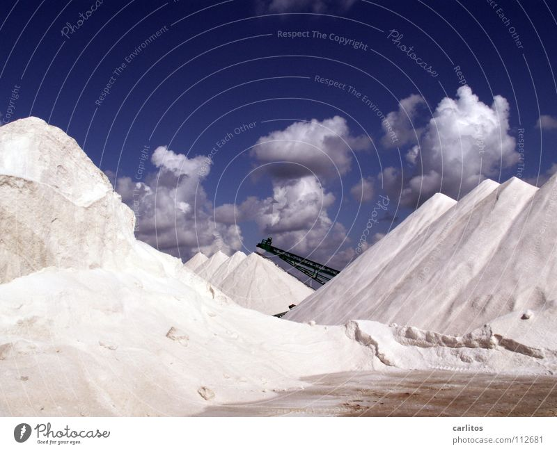 I'm dreaming of a white ...... Balearen Mallorca Saline Mineralien lebenswichtig Sommer Meer Wetter Ses Salines Salz Meersalz balearische Skischule
