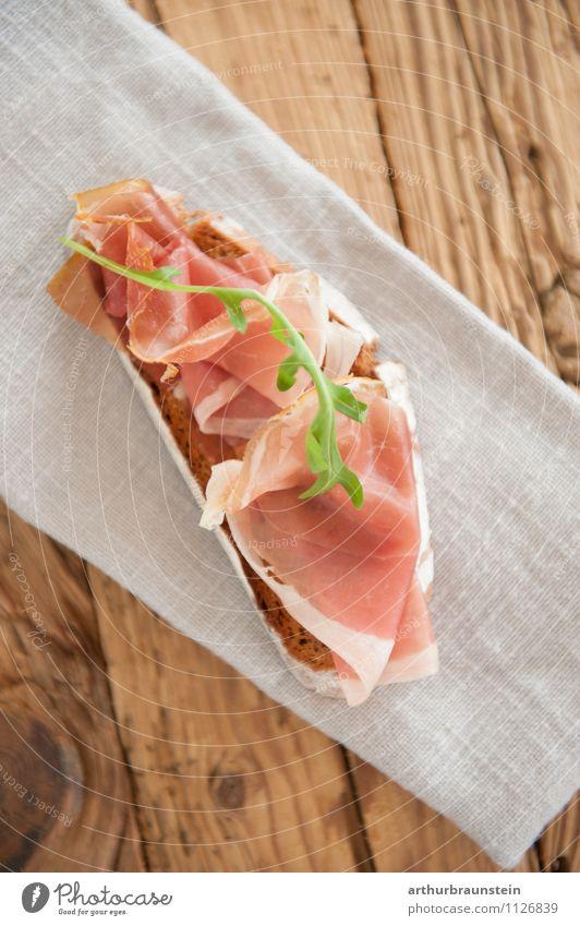 Brettljause grün Gesunde Ernährung Holz Gesundheit Essen Lebensmittel braun Lifestyle lecker Brot Backwaren Teigwaren Salat Salatbeilage Brötchen