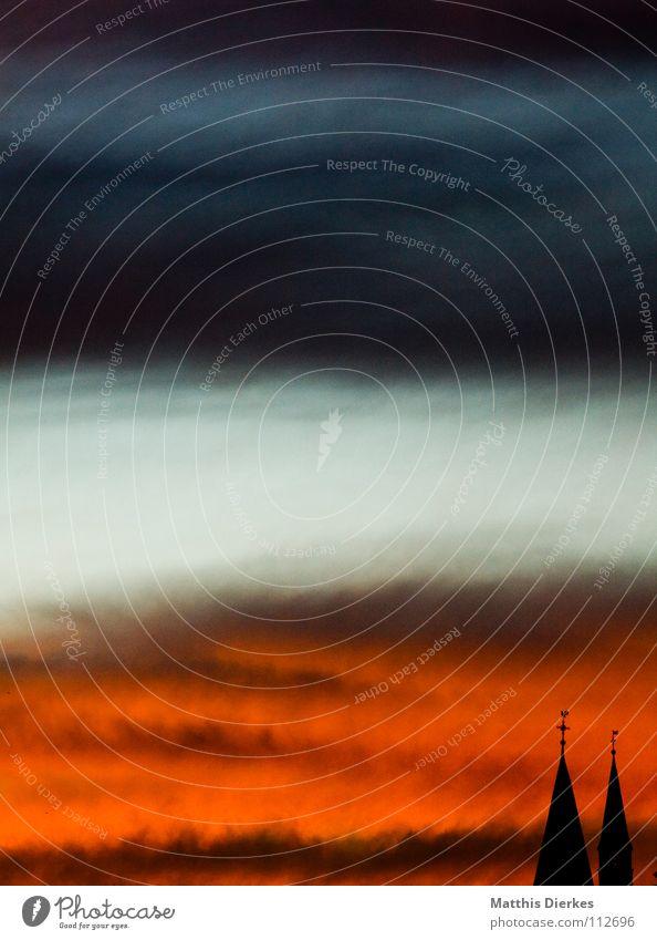 Abstract Sky Himmel alt blau schön Baum Sonne Freude Wolken schwarz Ferne Herbst Graffiti Wärme Religion & Glaube Gebäude Denken