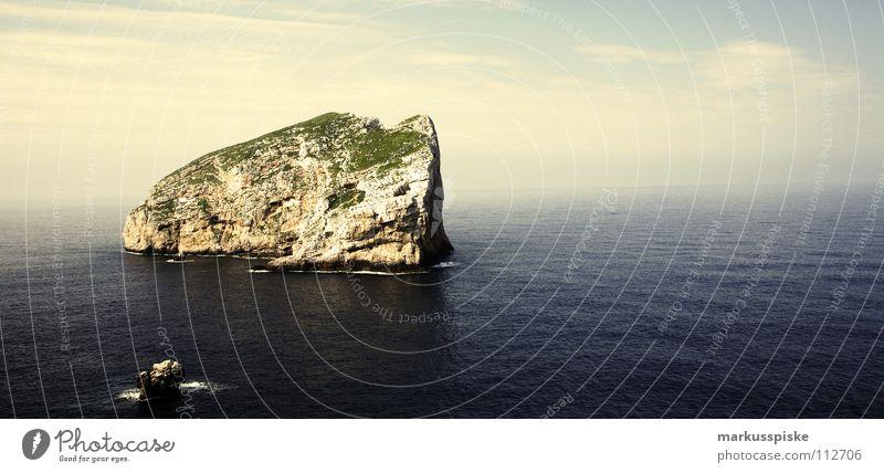 nordküste sardinien Himmel Ferien & Urlaub & Reisen Strand Wolken Landschaft springen Küste Felsen Insel Europa Italien Bucht Jahreszeiten Mittelmeer Sardinien