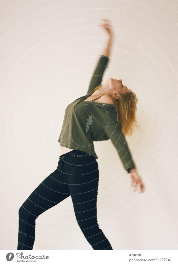 Molekültanz III Haare & Frisuren Fitness Sport-Training Mensch feminin Junge Frau Jugendliche Erwachsene Körper 18-30 Jahre Tanzen Tanzveranstaltung Tänzer