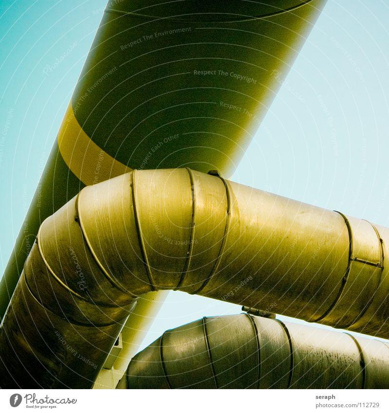 Pipeline Erdgaspipeline Erdölpipeline Röhren Eisenrohr Gasleitung Industrie Wärme Energie Energiewirtschaft Ressource Tankstelle Biegung Knick