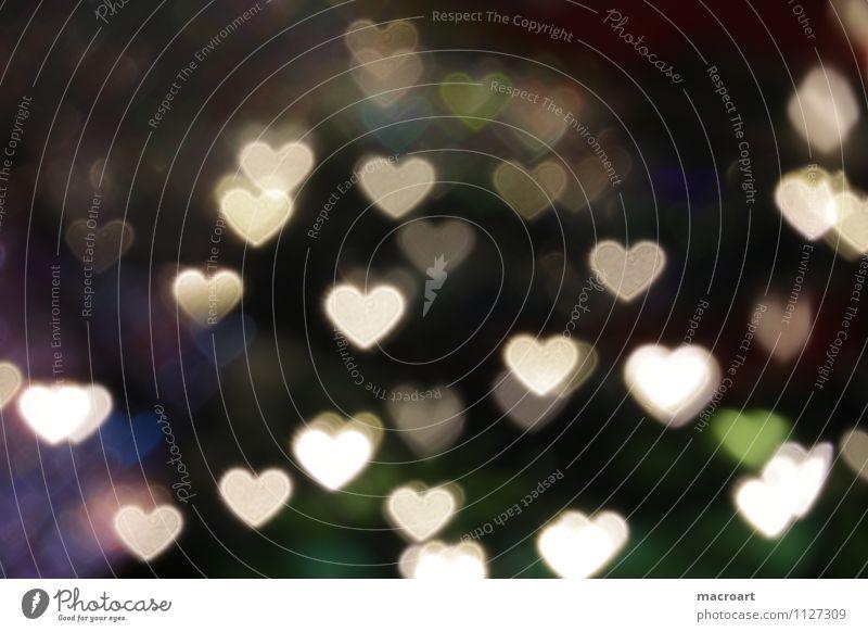 Herzchen herzen herzchen bokeh hintergrund textur liebe herzform herzförmig dunkel schwarz licht muttertag valentinstag