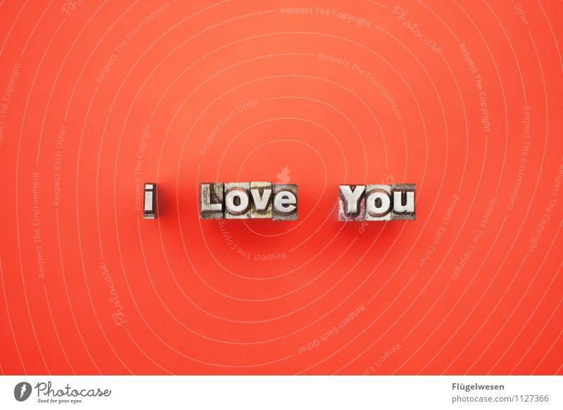 Englische Liebe schön Freude Gefühle Glück Lifestyle Paar Metall Zusammensein Freundschaft Design träumen Lebensfreude Romantik Buchstaben Hochzeit
