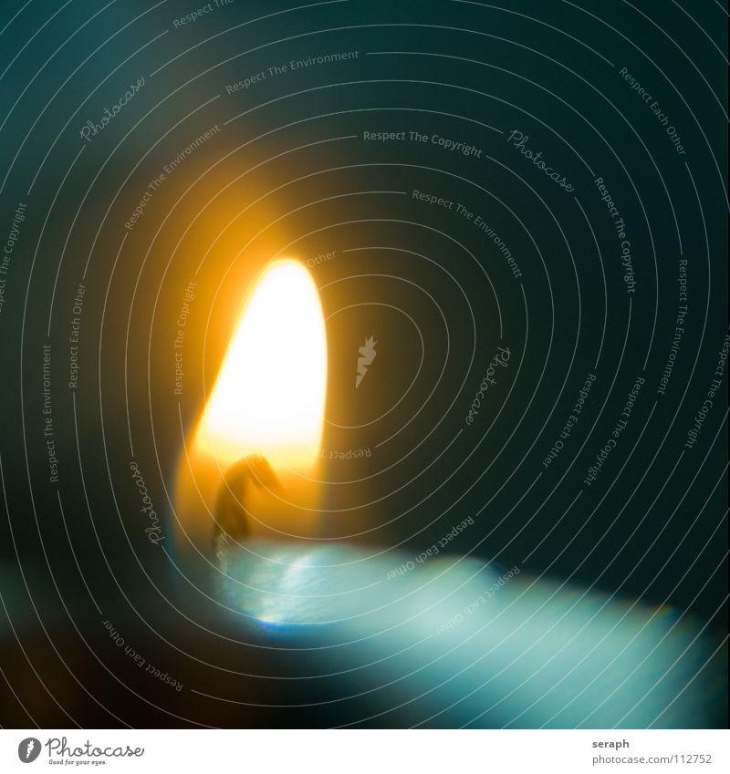 Kerzenschein Weihnachten & Advent ruhig Wärme Hintergrundbild Stimmung Dekoration & Verzierung Warmherzigkeit Feuer Hoffnung Flamme gemütlich Erinnerung