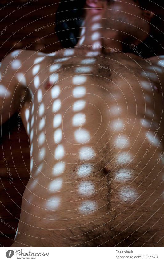 . . . . . . . Mensch Jugendliche nackt schön Erotik ruhig Junger Mann 18-30 Jahre Erwachsene maskulin Sex dünn Bauch Lust Lichtpunkt Schambereich