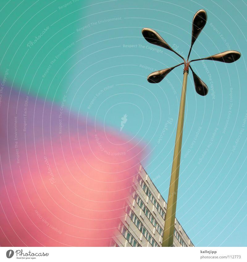 plattenaufleger Himmel Blume Stadt Pflanze Haus Farbe Lampe Berlin Wand Fenster Raum Beleuchtung Architektur rosa leer Ecke