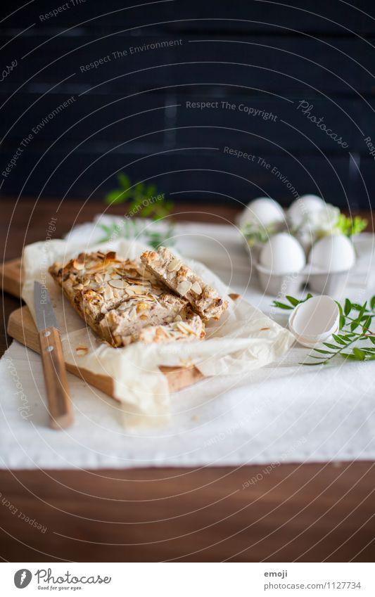 Osterbrunch Teigwaren Backwaren Brot Ernährung Frühstück Büffet Brunch Bioprodukte Vegetarische Ernährung Fingerfood frisch lecker Ostern Farbfoto Innenaufnahme