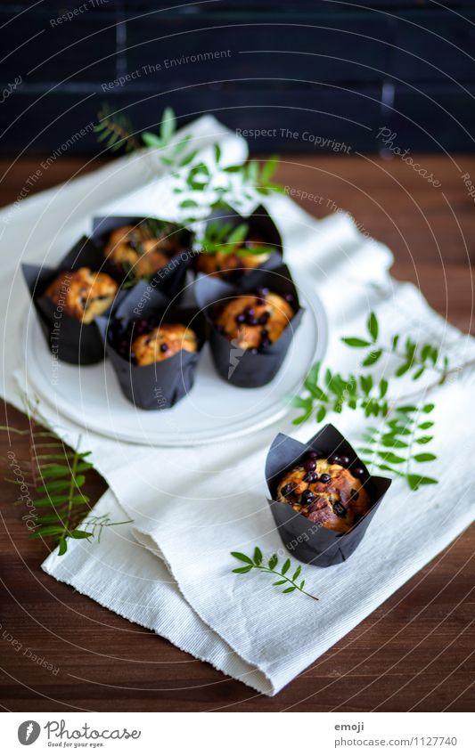Muffin Kuchen Dessert Süßwaren Ernährung Fingerfood lecker süß Farbfoto Innenaufnahme Menschenleer Tag Schwache Tiefenschärfe