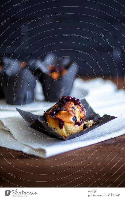 fruchtig Ernährung süß lecker Süßwaren Frühstück Dessert Backwaren Picknick Teigwaren Büffet Brunch Muffin Slowfood
