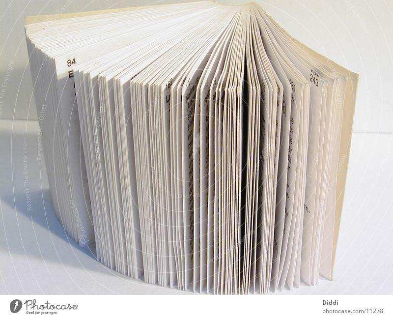 Buchseiten Dinge Seite