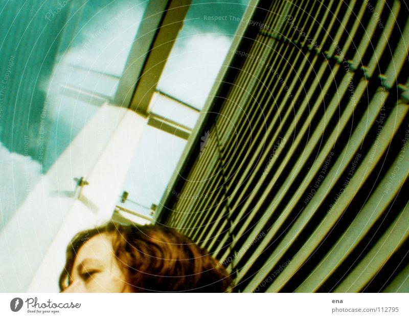 bZw Himmel Wolken Haare & Frisuren Kopf Luft Glas Wetter frei verrückt Fassade offen Bildung Dresden unten Flucht