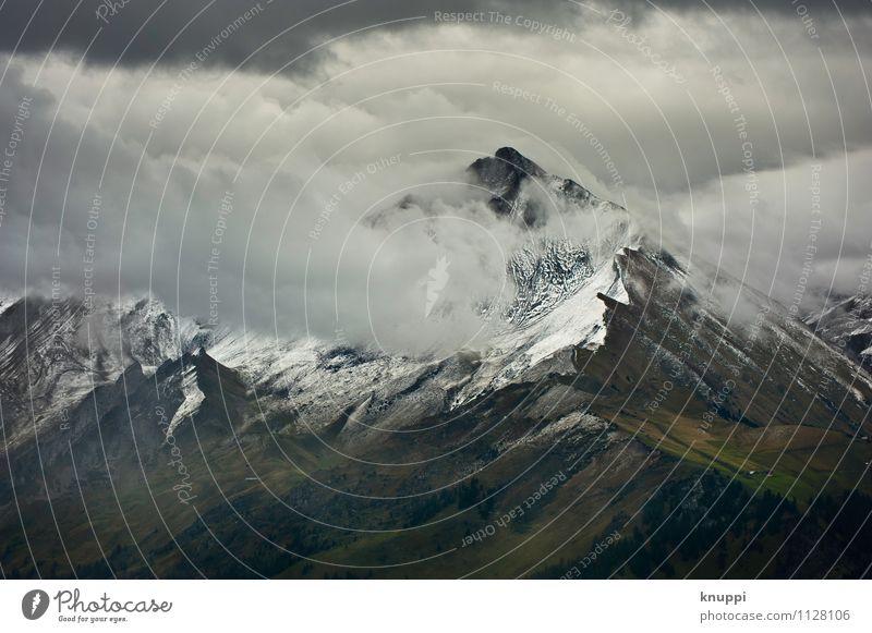 Unwetter Umwelt Natur Landschaft Urelemente Luft Wasser Himmel Wolken Gewitterwolken Sonnenlicht Winter Klima Klimawandel Wetter schlechtes Wetter Nebel Regen