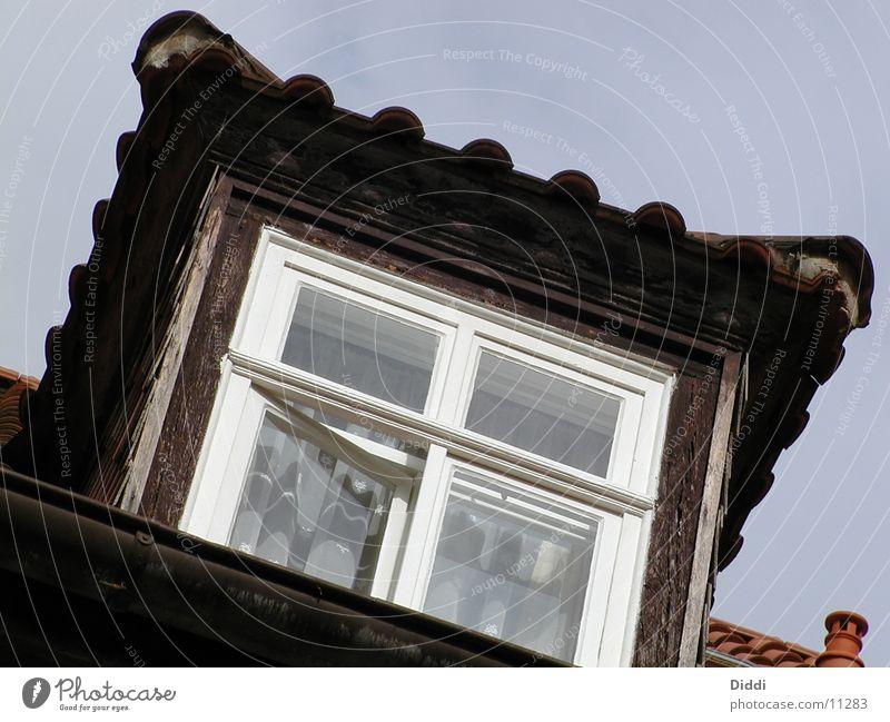 unter der haube Haus Fenster Architektur Dach