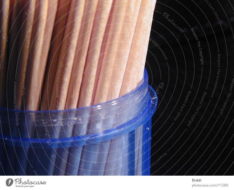 Baumstämme zur Zahnreinigung Holz Mund Dinge Behälter u. Gefäße Zahnstocher