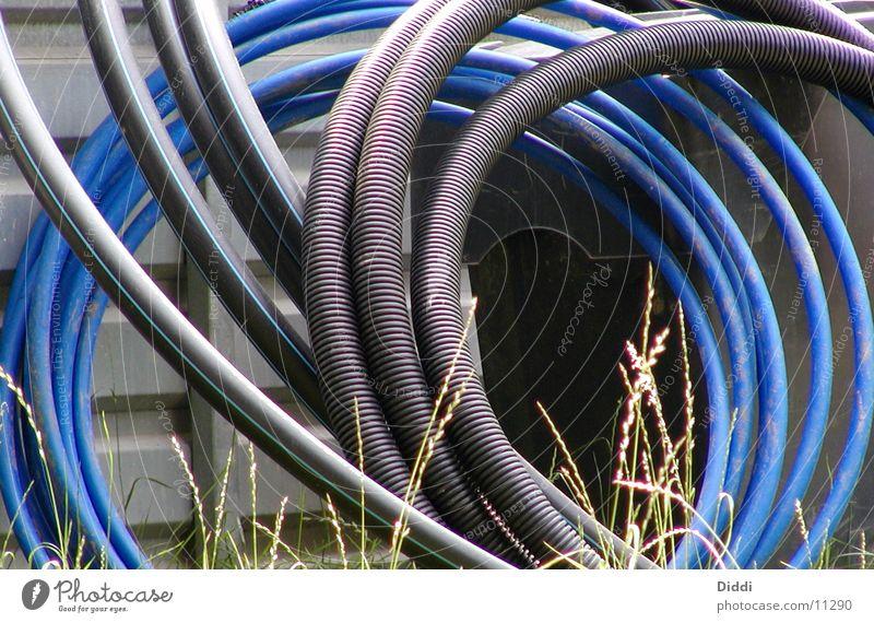 Kabelbau Elektrizität Kabel Dinge Furche Schlauch