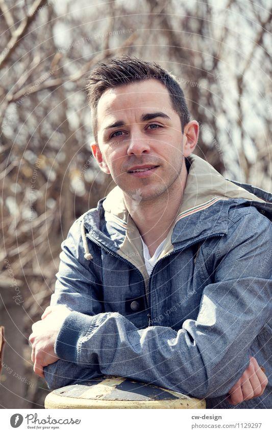 Andreas Mensch Natur Ferien & Urlaub & Reisen Jugendliche Mann Erholung Junger Mann ruhig Freude 18-30 Jahre Erwachsene Leben Stil Lifestyle maskulin