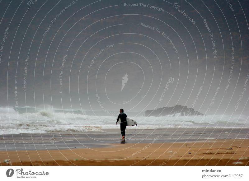 Brandung Strand Wellen Surfen Meer Meerwasser Gischt Sport Spielen
