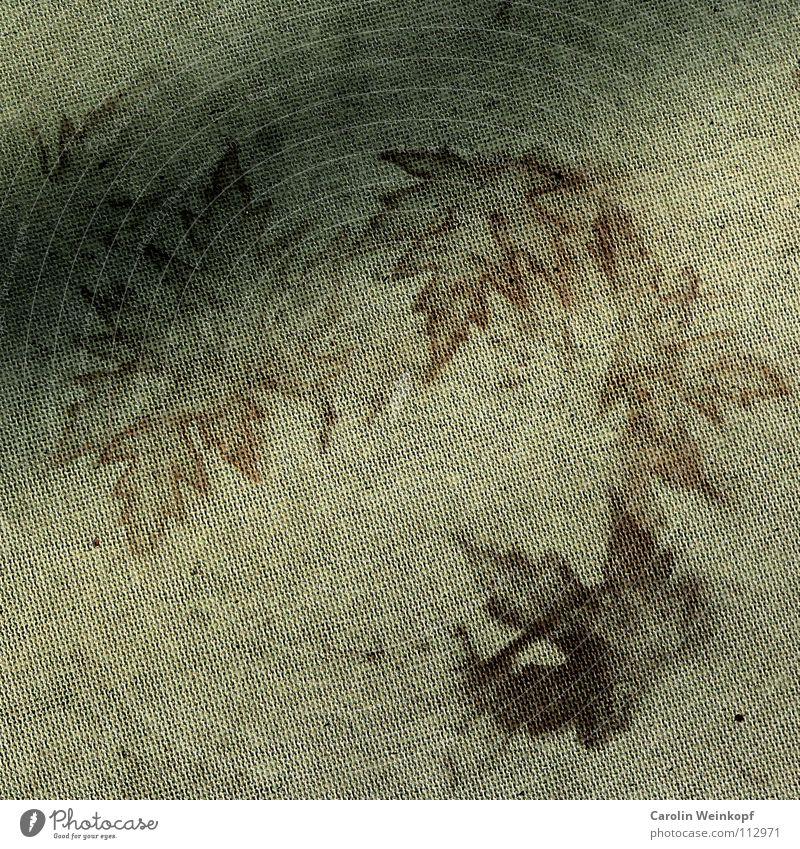 Sein und Schein VI Blatt Beton Herbst Jahreszeiten braun grau Vergänglichkeit Silhouette Kunst Stempel herbstlich vorübergehend Zwischenstadium